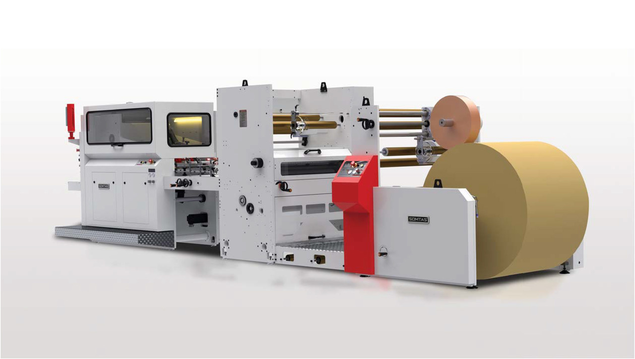 Somtas Paper Bag Producing Machinery